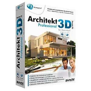 Architekt 3d x5 professional f r mac mac for Architekt 3d professional