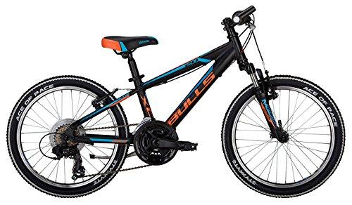 Kinderfahrrad 20 Zoll schwarz (2017) - Bulls Tokee Mountainbike - Shimano Schaltung 18 Gänge