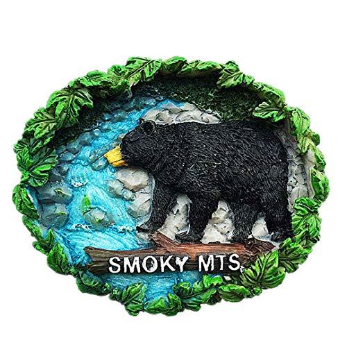 eat Smoky Mountains Nationalpark Tennessee USA Amerika 3D Kühlschrank Kühlschrankmagnet Reise-Andenken-Sammlungs-Dekorations-weißer Brett-Aufkleber ()