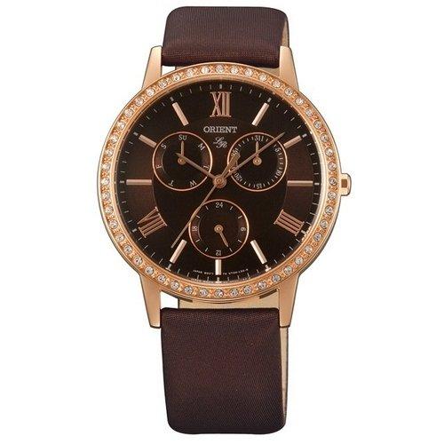 Reloj Orient Lady Rose Ut0h001t Mujer Marrón