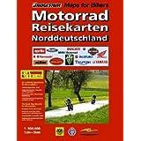 RV Motorad-Reisekarten 1:300 000 Norddeutschland