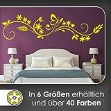 Kiwistar Tribal - Sterne - Schmetterling Wandtattoo in 6 Größen - Wandaufkleber Wall Sticker