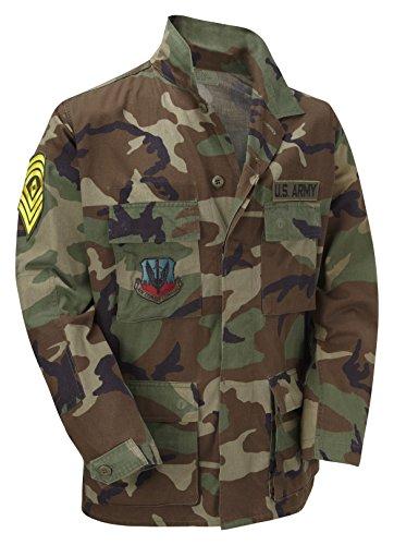 Unknown - Camicia militare -  uomo Multicolore camouflage - Army Surplus Camouflage