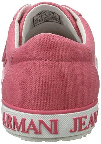 Armani Jeans Damen 9252257p614 Sneakers Rosa (light Geranio)