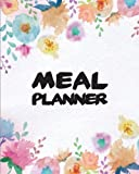6: Meal Planner Weekly Meal Planner With Grocery List (Food Planner)