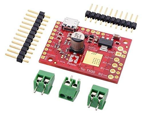 Multi-voltage-controller (Pololu Tic T500 USB Multi-Interface Stepper Motor Controller)