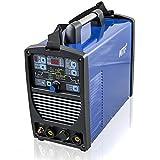 Ipotools NTF SUPERTIG 200DI WIG Schweißgerät AC DC Schweissgerät mit 200 Amper Volldigitales Inverterschweißgerät mit HF-Zündung | Pulsfunktion | MMA | IGBT