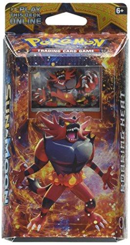 Pokemon: sole e moon theme deck pack: roaring heat-inglese