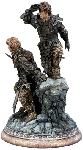The Lord of the Rings - Frodo Baggins & Samwise Gamgee Statue (japan import) 1