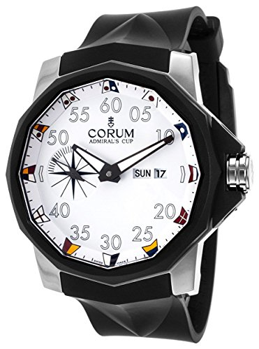 Corum Admiral's Cup Competition Automatic Steel Mens Strap Watch A947/02950