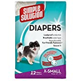#1: Simple Solution Disposable Diapers, X-Small (12 Pack)