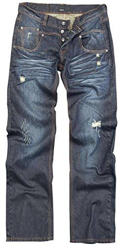Forplay Stan Jeans blu scuro W38L36