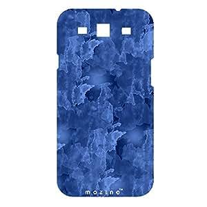 Mozine Blue Cloud printed mobile back cover for Samsung S3i9300