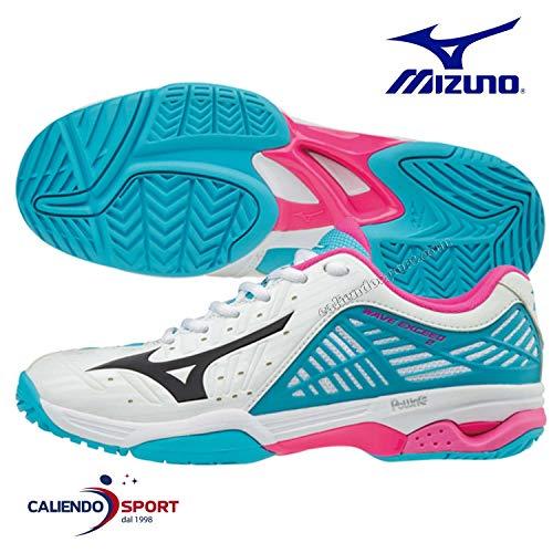 Mizuno Wave Exceed 2 Women'S Women'S All Court Zapatilla de Tenis - SS18-38.5