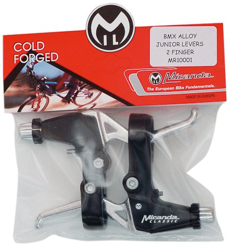 Miranda - Leve freni per mountain bike, in lega, nero/argento