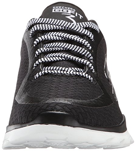 Skechers prestazioni Go Fit 3 Walking Shoe Black/White