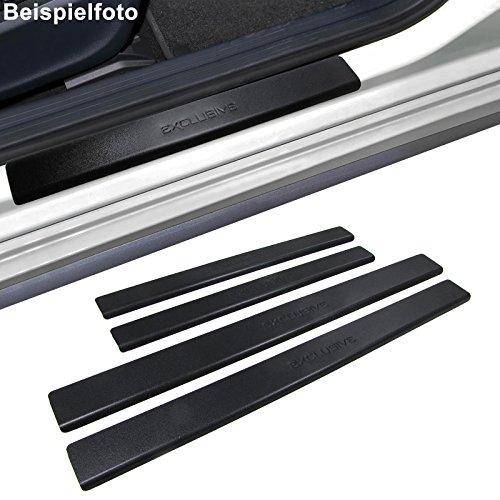 Preisvergleich Produktbild Carparts-Online 28423 Einstiegsleisten Schutz schwarz Exclusive