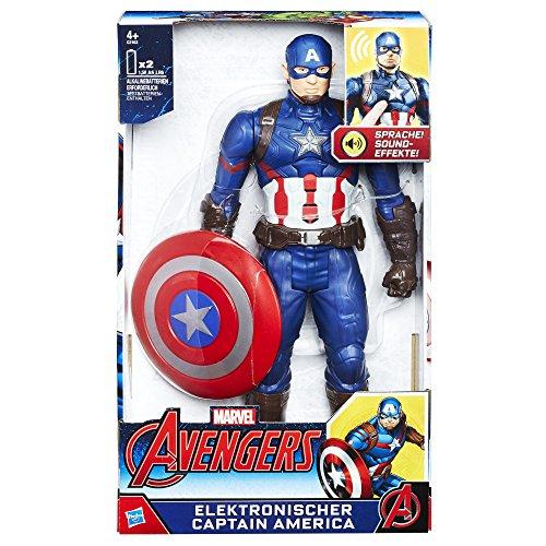 Hasbro Avengers C2163100 - Elektronischer Titan Hero Captain America, Actionfigur