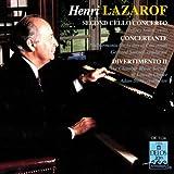 Lazarof: Cello Con, Concer, Diverti