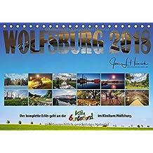 Wolfsburg 2018 - Der Benefizkalender (Tischkalender 2018 DIN A5 quer): Der Benefizkalender für Wolfsburg (Monatskalender, 14 Seiten ) (CALVENDO Orte)