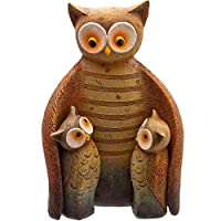 Something Different Wholesale Owl Family (4/12), Multicolour, 18x12x19 cm