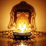 #7: M.G.R.J Lord Buddha Ji Shadow Lamps tealight candle holder stand for Pooja and Decorative