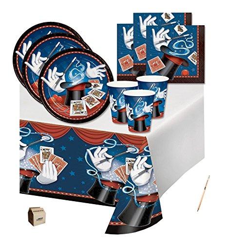 Irpot - kit n 3 coordinato tavola magic party mago