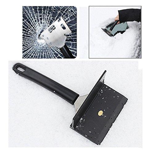 Wewoo Raclette für Windschutzscheibe Schaufel Messer Camping Schnee Brett Schlüssel Dringend. Flasche Offene Zerbrochenes Fenster Multifunktionale