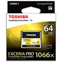 Toshiba EXCERIA PRO - Tarjeta de memoria Compact Flash de 64 GB