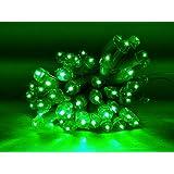 LED Green Rope Light,7meter,5mm LED,Diwali ,Christmas Light Decorative.
