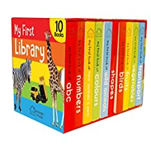 ‏‪My First Library : Boxset of 10 Board Books for Kids‬‏