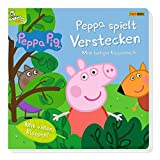 Peppa Pig: Peppa spielt Verstecken - Mein lustiges Klappenbuch: Pappbilderbuch mit Klappen