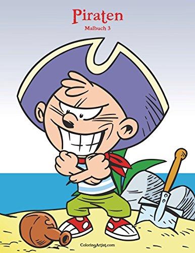 Piraten Malbuch 3 -