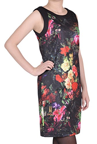 MyCollection - Robe - Femme Fleurs Obscures