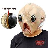 CreepyParty Deluxe Halloween Alien Latex...
