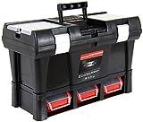 Semi-Profi Werkzeugkoffer Werkzeugkasten Toolbox Werkzeugbox Angelkiste XL 20 '