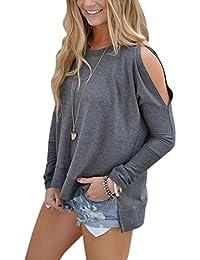 Suchergebnis auf Amazon.de für  Cold Shoulder - Blusen   Tuniken ... dedf9ae7ab