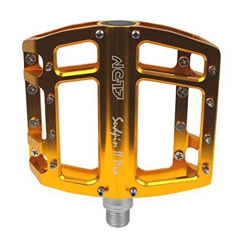 NC-17 Radsport Pedalen Sudpin II Pro, Gold, Nicht zutreffend