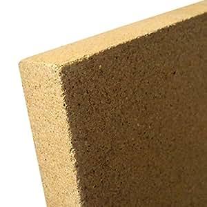 30 mm vermiculite platte 400 x 600 mm schamotte ersatz ofen kamin auskleidung. Black Bedroom Furniture Sets. Home Design Ideas