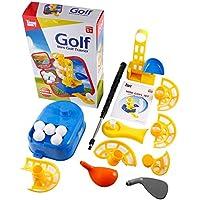 Furobayuusaku Portable Mini Golf Trainer Automatic Dispenser Training Eye Reaction Ability