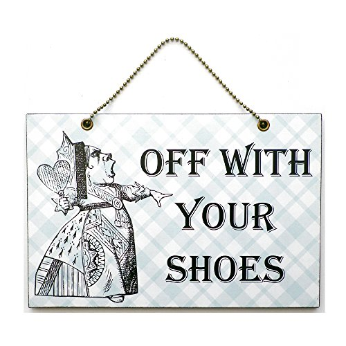 handmade-wooden-off-with-your-shoes-alice-in-wonderland-sign-291