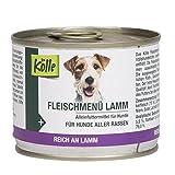 Kölle Nassfutter für Hunde Fleischmenü Lamm, 200 g