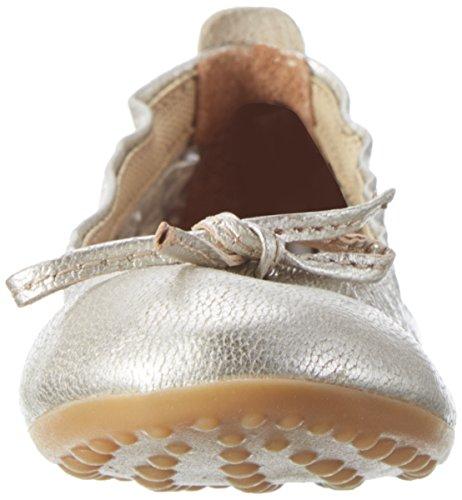 Bisgaard Mädchen Ballerina Geschlossene Ballerinas Silber (7008 Silver)