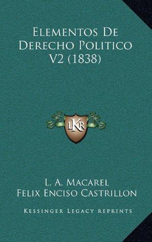 Elementos de Derecho Politico V2 (1838)