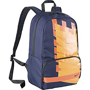Nike Classic Turf Unisex Backpack 0 Navy Blue/Orange