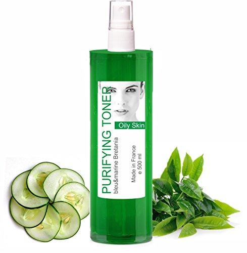 Loción Tónica Piel Grasa Acneica Té Verde 500 ml