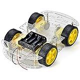 Raspberry Pi und Arduino-kompatible Roboter-Chassis mit 4-Motor-Antriebssystem