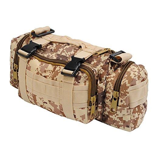Molie 8cmx18cmx30cm Sport Outdoor Military Rucksacks Tactical Backpack Camping Hiking Trekking Bag Desert