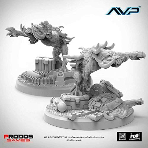 Prodos Games AvP Tabletop Game The Hunt Begins Expansion Pack Predator Hellhounds UniCast EDI