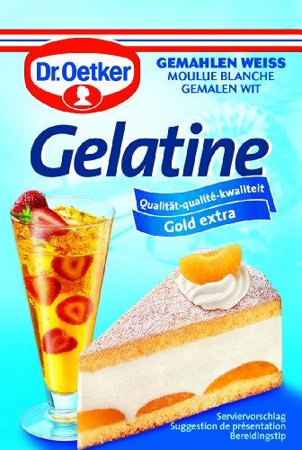 Dr. Oetker Gelatine gemahlen weiß, (3 x 9 g)